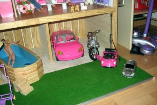 Garage voiture et moto