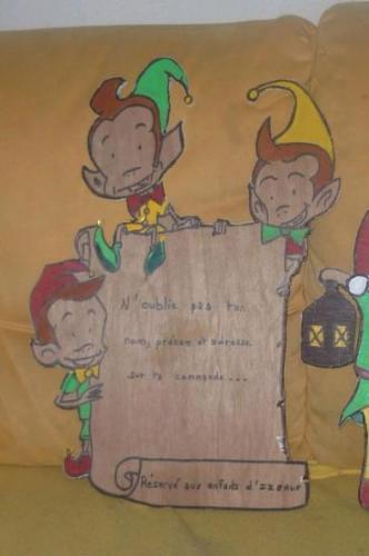 2010 : Pancarte pour la boîte aux lettres