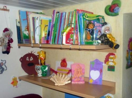 """Les livres pour les """"grands"""" et quelques modèles de bricolage"""