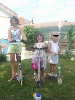 Les trottinettes 2 ou 3 roues selon les âges