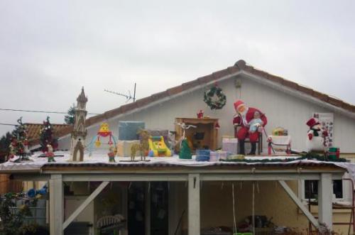 2009 : Père Noël au pied de sa cheminée