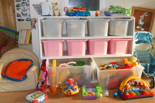 La salle de jeux for Ikea salle de stockage de jouets