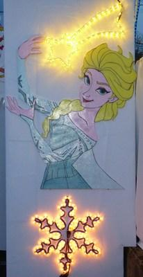 2014 : Reine des neiges : Elsa