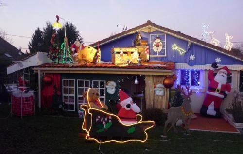 2013 : la chambre du Père-Noël sur le toit