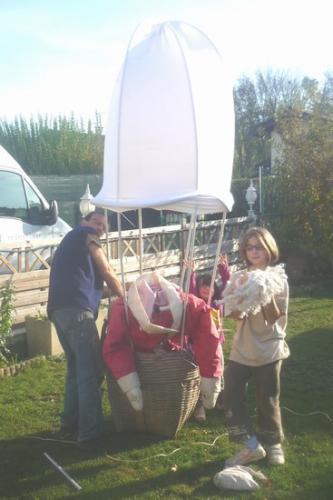 2011 Préparation de la montgolfière du PN