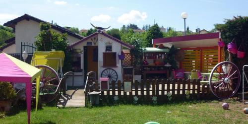 2014 : Terrasse du restaurant...