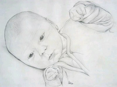 Comment dessiner un bebe - Comment dessiner un bebe chat ...